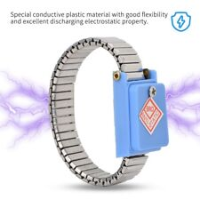 Anti Static Cordless Bracelet ESD Discharge Cable Wrist Strap Cool B kw