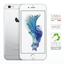 Cellulari e smartphone bianchi Apple iPhone 6s con 64 GB di memorizzazione