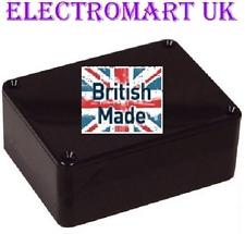 ABS BLACK PLASTIC ELECTRONICS PROJECT BOX ENCLOSURE 100 X 76 X 41MM