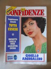 CONFIDENZE n°1532 1976 con inserto Uncinetto  [G685B] Rivista Vintage