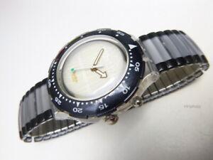 "Swatch: Scuba "" Dan Jansen "" (SDZ900) Olympic Games - Licht-Knopf New/Rarity"