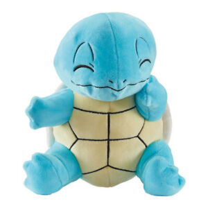 Official Pokemon Squirtle Sitting 8 Inch Plush Soft Toy Teddy
