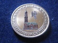 """MDS DEUTSCHLAND 2 EURO 2008 J """"HAMBURG"""", COLORIERT"""