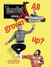 TAKE THAT PHOTO COVER INTERVIEW UK TIME OUT LONDON MAGAZINE - MARCH 2017