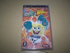SpongeBob SquarePants: The Yellow Avenger PSP **New & Sealed**
