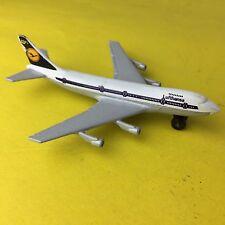 Vtg Matchbox Lufthansa Boeing 747 Diecast Metal Jet Airplane 1973 Sb10