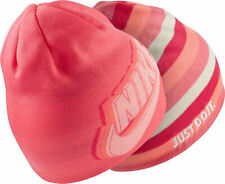 NIKE YOUTH UNISEX KNIT PINK BEANIE CAP HAT NWT FAST SHIP LOOK HERE ⚡️