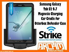"STRIKE ALPHA SAMSUNG GALAXY TAB S2 9.7"" MAGNETIC CHARGE CRADLE OTTERBOX DEFENDER"