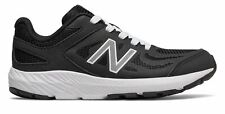 New Balance Kid's 519 Big Kids Male Shoes Black with White