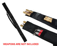 Deluxe Canvas Bo Staff carrying case Stick Bag Martial Arts Weapons New