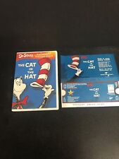 Dr. Seuss: The Cat in the Hat DVD  Animated TV classic W/Rare Promo Movie Pass