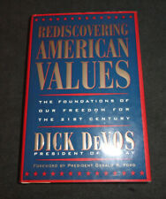 Rediscovering American Values: The Foundations of our Freedom for Signed - Amway