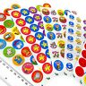 Ivy Stationery – 420 Assorted Motivational Merit Award Face Stickers - 23.5mm