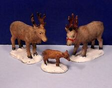 Lemax Reindeer Family - Set of 3