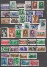 Russia 1948, 68 old stamps, used, 2 scans