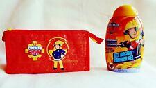 Fireman Sam Set - Duschgel 300 ml mit Kosmetiktasche