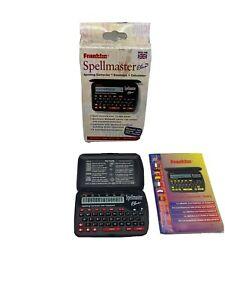 Franklin Spellmaster Plus SPQ-106 Spelling Corrector & Databank Crossword Solver