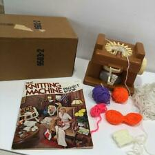 The KNITTING MACHINE by Mattel Loom + Project Book Vintage Rare Works 1974