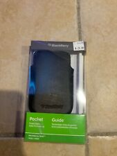 GENUINE BLACKBERRY BOLD 9930/9900 LEATHER POCKET CASE COVER POUCH