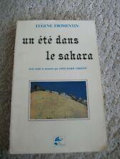 Fromentin, Eugene: Un été dans le Sahara