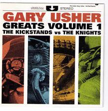 Gary Usher Greats v.1 Kickstands vs. The Knights CD surf drag hot rod Hal Blaine