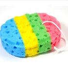 Shower Massage Bathroom Loofah Oval Bath Sponges Body Wash Brush Scrubber CF
