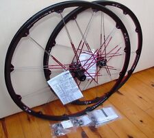 "Nos Crank Brothers Cobalt 3 Wheelset, 27.5"", Blk/Red, 15/12x142mm, 9/10 Spd, New"