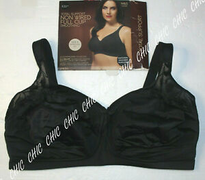 M&S COLLECTION TOTAL SUPPORT SMOOTHING NON WIRED FULL CUP BRA BNWT BLACK SIZE40F