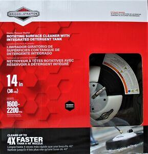 "Genuine OEM Briggs & Stratton 6337  14  "" Rotating Surface Cleaner w/ Detergent"