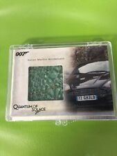 James Bond Relic Card Aston Martin Windshield 156/700 Quantum Of Solace Amr1
