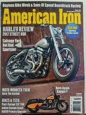 American Iron Issue 350 Harley Review 2017 Street Rod Bike Tech FREE SHIPPING sb