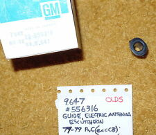 1977-79 Oldsmobile Delta 88/98 Antenna Escutcheon Insert NOS 556316