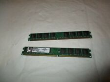 Kingston 4GB 2 x 2GB DDR2 800Mhz PC2-6400 KVR800D2N6/2G DIMM Desktop RAM Memory