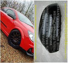 PAIR VXR ARCTIC RACING NURBURGRING SAPPHIRE BLACK ASTRA MIRROR COVER NOT CARBON
