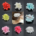 Beauty Hair Flower Crystal Clip Pin Bridal Wedding Prom Party for Girl Women