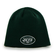 New York Jets Beanie Knit Hat Youth '47 Brand Green NWT