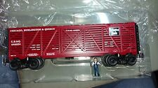 "0-line Reproductions  OLR115  10"" CB&Q 0 gauge Stock Car #646054"