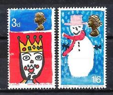 Grande-Bretagne - Great Britain 1966 Yvert n° 461 et 462 neuf ** 1er choix