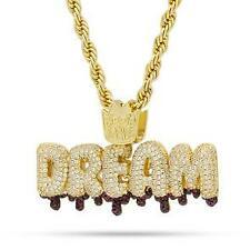 Bubble Letter Dream Pendant 925 Sterling Silver Pendant
