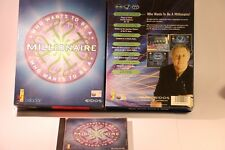 PC GAME WHO WANTS TO BE A MILLIONAIRE PC CD-ROM BIG BOX GAME WINDOWS 95/98