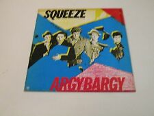 SQUEEZE - ARGYBARGY - LP 1980 A&M RECORDS MADE IN UK - ORIG INNER - MINT-/VG++