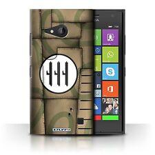 Stuff4 Hülle/Case/Backcover für Nokia Lumia 730/Kampfflugzeug Flügel