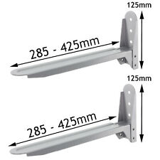 Silver Stand Brackets for BAUMATIC PANASONIC Microwave Wall Mount Extendable