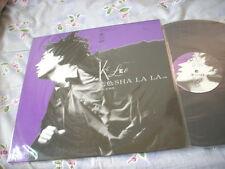 a941981 HK KC Lee 李國祥 Promo LP Single 藍色 Sha La La