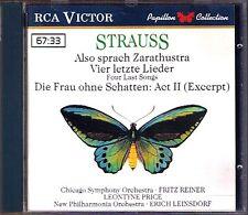 Leontyne PRICE: STRAUSS Four Last Songs Zarathustra CD Vier letzte Lieder REINER