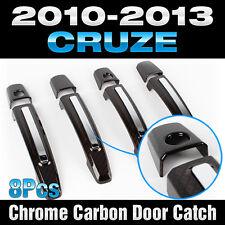 Chrome Carbon Door Catch Handle Garnish Molding for CHEVORET 2010-2013 Cruze