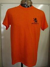 HOLLAND ORANGE  RETRO 1974  WORLD CUP FOOTBALL T- SHIRT SIZE ADULT XXL BRAND NEW