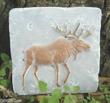 Gostatue moose travertine tile mold abs plastic mould