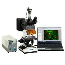 Omax 40x 2500x 9mp Digital Epi Fluorescence Trinocular Biological Microscope