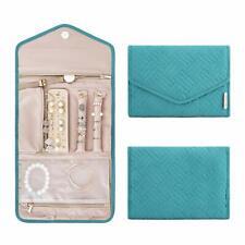 Bagsmart Travel Jewelry Organizer Roll Foldable Jewelry Case Necklaces Bracelets